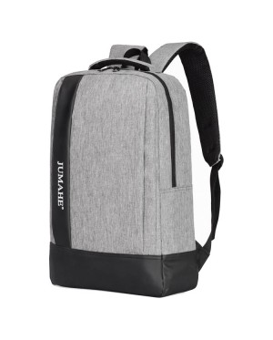 Unisex Plain Design College Student Casual Daily Padded Fabric Backpack MC504 RF5
