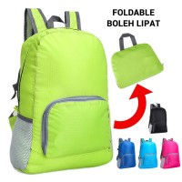 Super Convenient Groceries Shopping Fordable Hiking Adventure Casual Backpack MC507 YT5