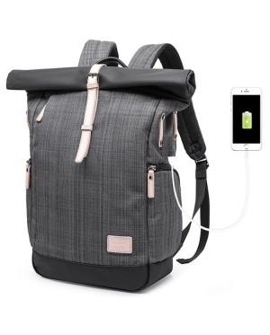 KAKA USB Office College High School City Elite Office Laptop Quality Backpack MC512 YS4