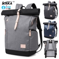 KAKA USB Office College High School City Elite Office Laptop Quality Backpack MC512 YS4