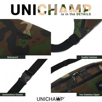 [Unichamp] MC523 Unisex Multi-Color Stylish Chest / Waist Large Bag Beg Dompet Pinggan Besar