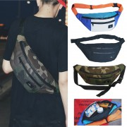 Unisex Multi-Color Stylish Chest / Waist Large Bag Beg Dompet Pinggan Besar mc523 RD1