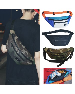 Unisex Multi-Color Stylish Chest / Waist Large Bag Beg Dompet Pinggan Besar mc523 RD1