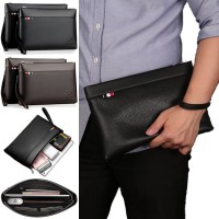 [Authenthic] Kangaroo Man Leather Hand Clutch Bag Beg Tangan Dompet Lelaki mc524 YL1