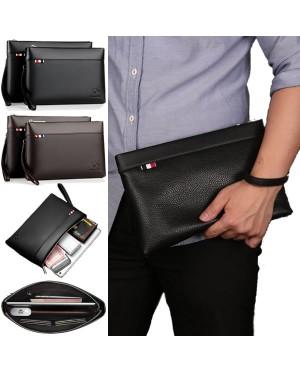 [Authenthic] Kangaroo Man Leather Hand Clutch Bag Beg Tangan Dompet Lelaki mc524 YL1