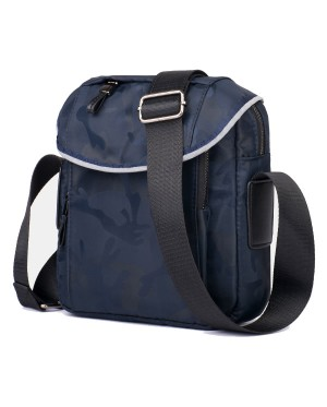 Man Camouflage Nylon Anti Splash Water Quality Large Sling Bag Beg Lelaki Crossbody mc525 YE2