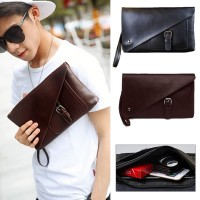 Man Hand Carry Large Wallet Beg Lelaki Tangan Leather Clutch Bag mc535 YY