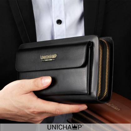 [Unichamp] MC531 Man Quality Clutch Hand Carry Wallet Beg Lelaki Clutch Dompet