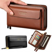 [LEINASEN] Authenthic Man Quality Clutch Hand Carry Wallet Beg Lelaki Clutch Dompet mc531 A1