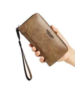 Man Thin & Convenient Multi Slot Stylish Long Wallet Dompet Nipis Lelaki MC534 RH2