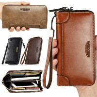 Man Thin & Convenient Multi Slot Stylish Long Wallet Dompet Nipis Lelaki MC534 A1