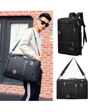 Man 2 Ways Carrying Daily Backpack / Sling Bag Beg Travel Office College MC536 YS5