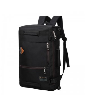 Man 2 Ways Carrying Daily Backpack / Sling Bag Beg Travel Office College MC536 RE4