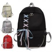 Girl College High / Secondary School Fancy Ribbon Shoelace Backpack Beg Sekolah Budak PerempuanMC537 G2