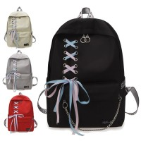 Girl College High / Secondary School Fancy Ribbon Shoelace Backpack Beg Sekolah Budak PerempuanMC537 RE3