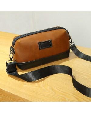 Man Classic Brown Sling Bag Beg Sling Lelaki Crossbody Messenger MC538 YY