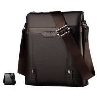 [Authenthic WEIXIER] Man Leather Elegant Sling Bag Beg Lelaki Crossbody MC542 RC3
