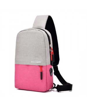 Unisex Canvas Chest Pouch Bag Crossbody Fashion Stylish Sling Beg MC546 RC7