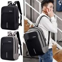 Man Laptop Backpack College Stylish Fashion Large Capacity MC549 RC3