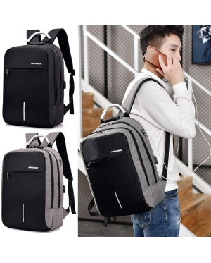 Man Laptop Backpack College Stylish Fashion Large Capacity MC549 RC3