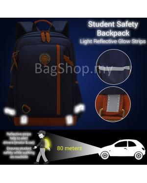 Kids Nylon Cushion Padded Comfortable Carry Primary School Backpack MC554 RF1