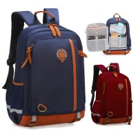 Kids Nylon Cushion Padded Comfortable Carry Primary School Backpack MC554 RF1