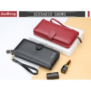 Woman Colorful Leather Long Purse Elegant Design Dompet Pu N3846 RH2