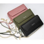 Woman Colorful Leather Long Purse Sling Elegant Design Dompet Pu N5509 RH1