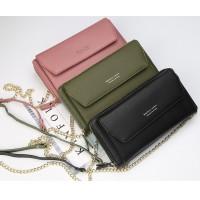 Woman Colorful Leather Long Purse Sling Elegant Design Dompet Pu N5509 RH1
