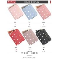 Woman Colorful Leather Short Purse Elegant Design Dompet Pu N5521 RH1