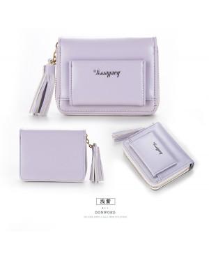 Woman Colorful Leather Short Purse Elegant Cool Design Dompet Pu N9982 RH2