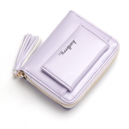 N9982 Woman Colorful Leather Short Purse Elegant Cool Design Dompet Pu