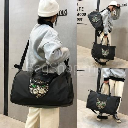 MC555 Woman Kitty Design Elegant Large / Small Women Shoulder Sling Travel Bag
