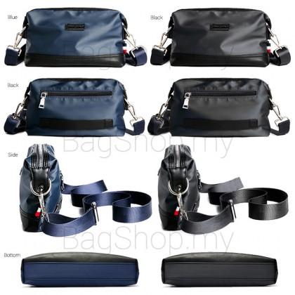 MC558 Man Black Blue Hand Carry Clutch Bag Men Stylish Sling Beg