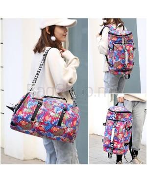Unisex Tropical Flamingo Colorful Weekender Large Capacity Backpack MC556 RE7