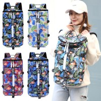 Unisex Tropical Flamingo Colorful Weekender Large Capacity Backpack MC556 RE7