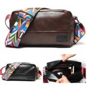 Unisex Black Coffee Stylish Sling Bag Colorful Sling Design Crossbody Beg MC573 RA4