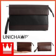 [Unichamp] MC382 Man Trending Fashion Leather Hand Carry Clutch Bag