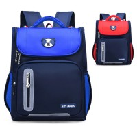 Kids Nylon Cushion Padded Comfortable Student Primary School Backpack MC577 RB2