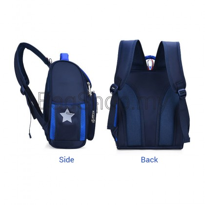 MC577 Kids Nylon Cushion Padded Comfortable Student Primary School Backpack