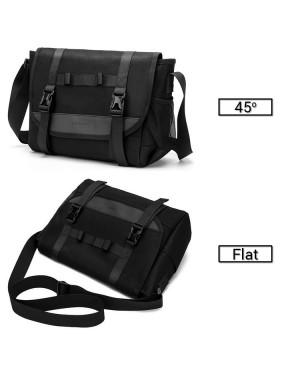 Man Canvas Stylish Formal Long Strap Cool Messenger Bag Sling Beg MC600 RD1