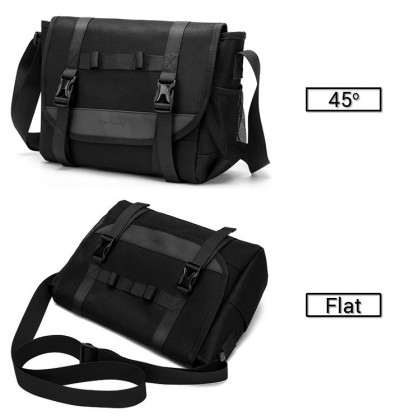 MC600 Man Canvas Stylish Formal Long Strap Cool Messenger Bag Sling Beg