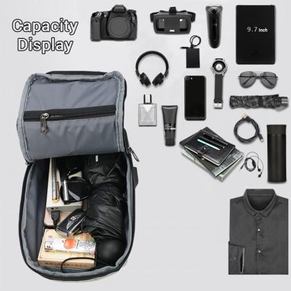 Man Sling Canvas Cool Bag Stylish Large Capacity Crossbody Beg Lelaki MC608 LA1