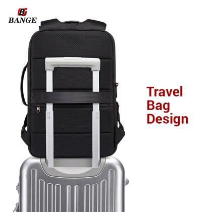 MC622 T-K [Bange] Unisex Nylon Quality Large Capacity Compartment Box Laptop Backpack LCB