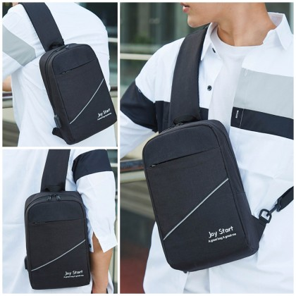 MC630 Man Nylon Colorful Sling Bag Casual Quality Stylish Design Crossbody Beg Lelaki