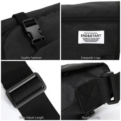 MC654 RF3Man Nylon Casual Design Messenger Fashion Travel Satchel for Teenagers Crossbody Bag