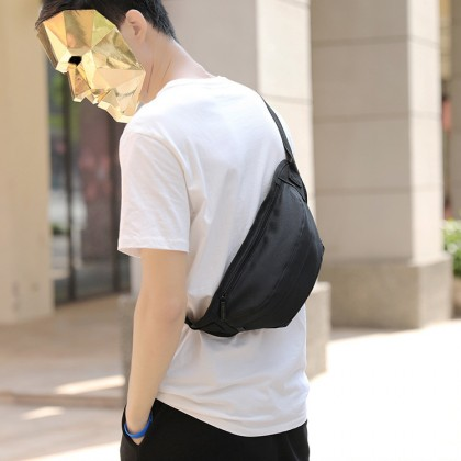 MC660 RG3 Man Canvas Outdoor Adjustable Strap Casual Fanny Pack Cool Design Waist Pouch Bag