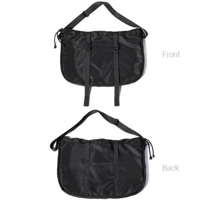 MC664 RH9 Man Soft Nylon Crossbody Shoulder Bag Casual Travel Large Messenger Bag