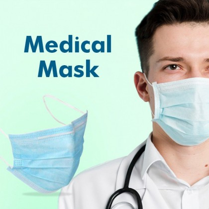 3ply Medical Disposable Mask 20pcs