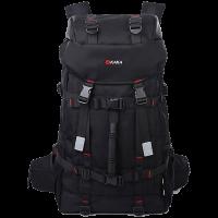 Unisex KAKA Quality & Stylish Black Travel Heavy Duty Backpack 2010 LCB LA1
